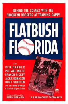 Flatbush Florida, Us Poster Art, 1950 Poster