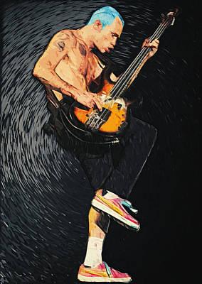 Flea Poster by Taylan Apukovska