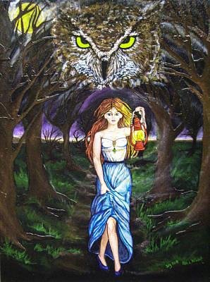 Fleeing Wisdom Into Darkness Poster