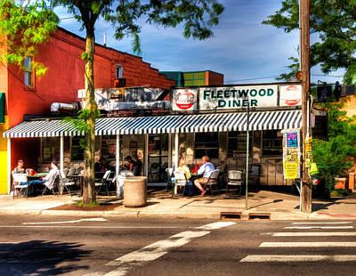 Fleetwood Diner Poster