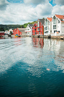 Flekkefjord Poster by Mirra Photography