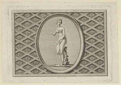 Fleuron On The Title Page Poster by Augustin de Saint-Aubin