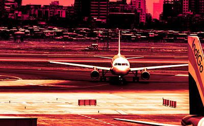 Flight Poster by Arjun Jamil