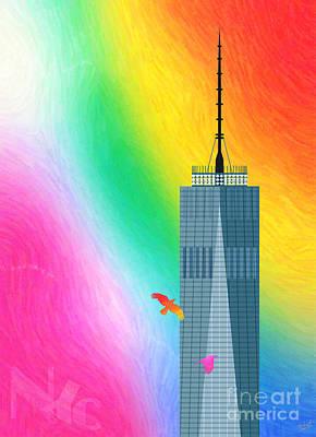 Flights Of Fantasy Poster by Nishanth Gopinathan