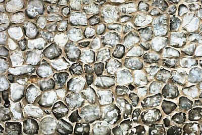 Flint Stone Wall Poster by Tom Gowanlock