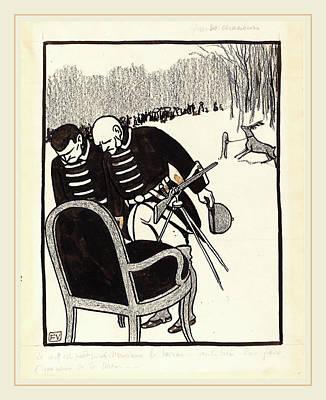 Félix Vallotton, Grands Chasseurs--le Cerf Est Prêt Poster by Litz Collection
