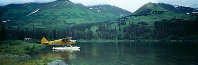 Float Plane Kenai Peninsula Alaska Usa Poster by Panoramic Images