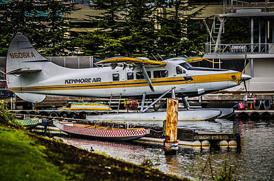 Float Plane Poster by Puget  Exposure