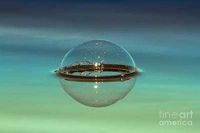 Floating Bubble Poster