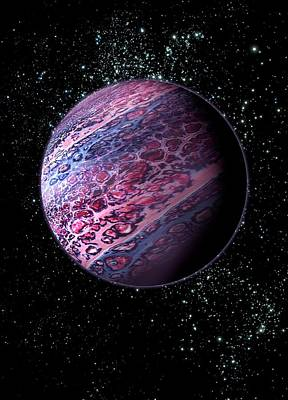 Floating Planet Poster