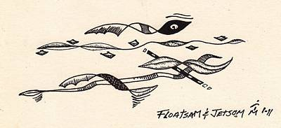 Floatsam And Jetsom Poster by Artreats