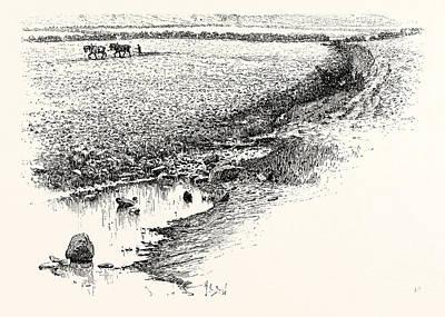 Flodden Field. The Battle Of Flodden Or Flodden Field Or Poster