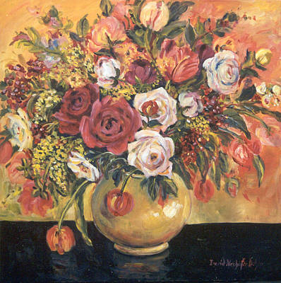 Floral Arrangement Poster by Alexandra Maria Ethlyn Cheshire