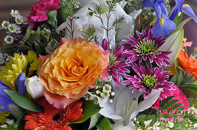 Floral Bouquet 6 Poster by Sharon Talson