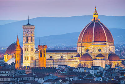 Florence Dome Poster