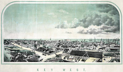 Florida Key West Poster by Granger