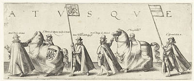 Floris Serelais, Pierre De Rhosne, Bailiff Of Putte Poster by Hendrick Goltzius