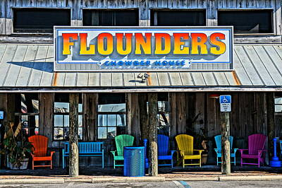 Flounders Poster