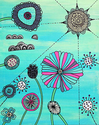 Flower Fever Poster by Susan Claire