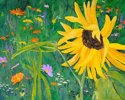 Flower Fun Poster