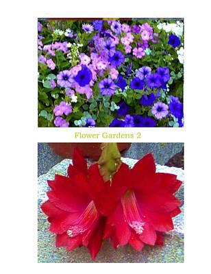 Flower Gardens B Poster
