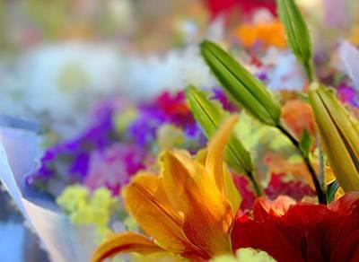 Flower Market 1 Poster
