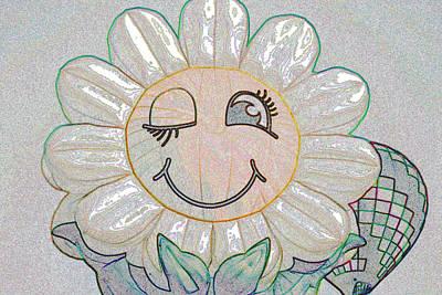 Flower Of The Balloon Festival Poster