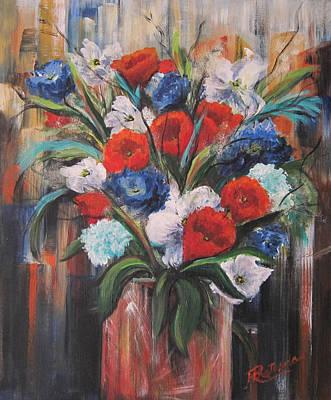 Flower Pride Poster by Roberta Rotunda