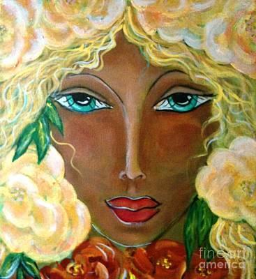 Flower Ritual Poster by Maya Telford