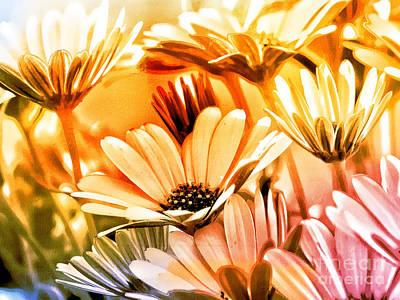 Flowers Artwork Poster by Lutz Baar