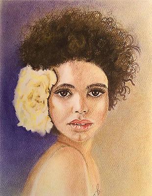 Flowers In Her Hair II. Poster