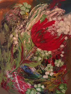 Flowers Of My Garden # 2 Poster
