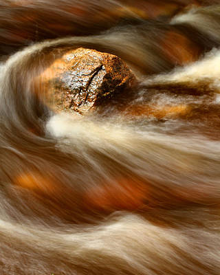 Flowing Stream Poster by Acadia Photography