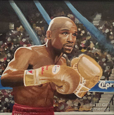 Floyd Mayweather Jr Poster