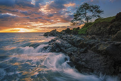 Fluid Motion Poster by Hawaii  Fine Art Photography