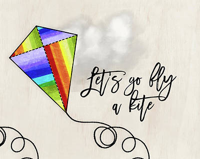 Fly A Kite Poster by Amy Cummings