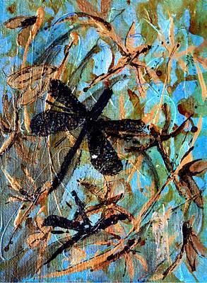 Fly Away Poster by Jo Anne Wyatt