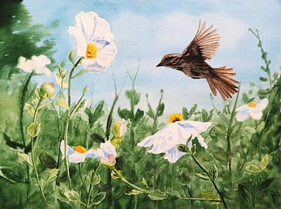 Flying Bird Poster