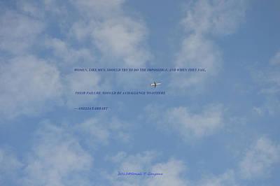 Flying High Poster by Sonali Gangane
