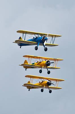 Flying Steermen  Poster