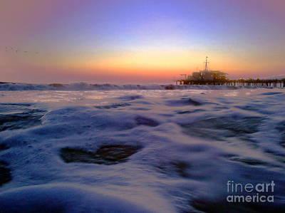 Foamy Sea Poster