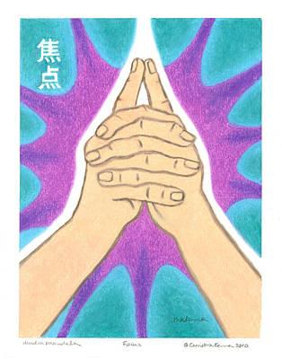Focus - Mudra Mandala Poster