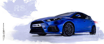 Focus Rs Poster