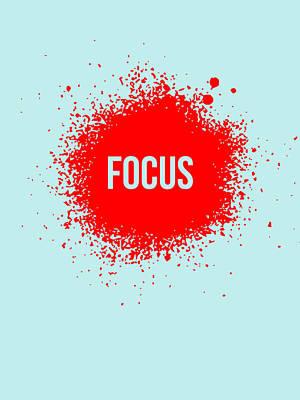 Focus Splatter Poster 2 Poster