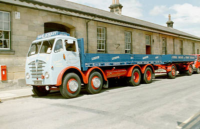 Foden Lorry And Trailer Poster