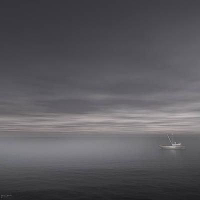 Foggy Stillness Poster by Lourry Legarde