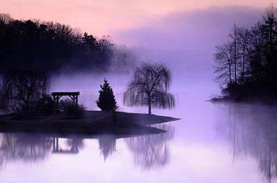 Foggy Twilight Poster