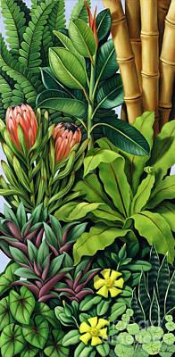 Foliage IIi Poster