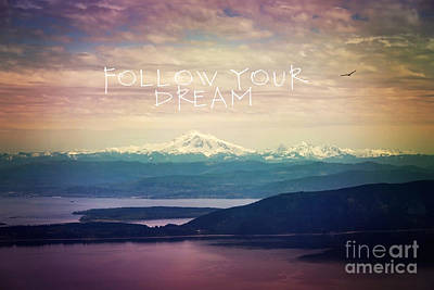 Poster featuring the photograph Follow Your Dream by Sylvia Cook