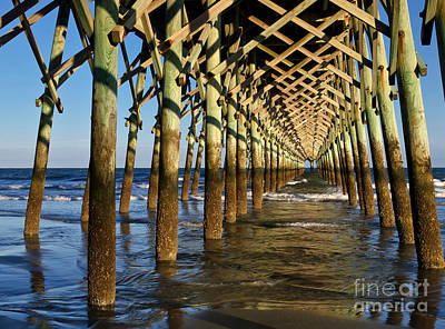 Folly Beach Pier Poster